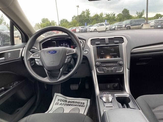 Used 2017 Ford Fusion SE with VIN 3FA6P0H77HR335748 for sale in Jordan, Minnesota