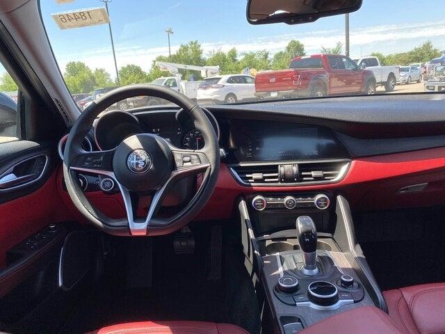 Used 2019 Alfa Romeo Giulia Ti with VIN ZARFAMBN7K7609609 for sale in Jordan, Minnesota